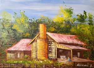 The shack in the bush