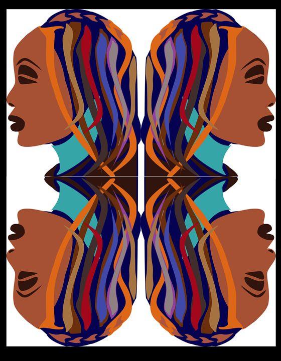 beautiful african woman - AK