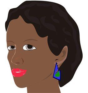 beautiful Black african princess