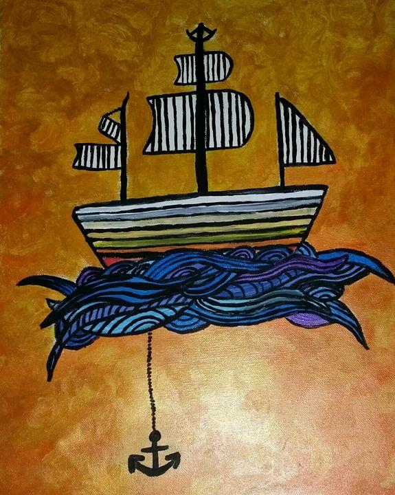 Rising Waters - IllustrationsByKatie