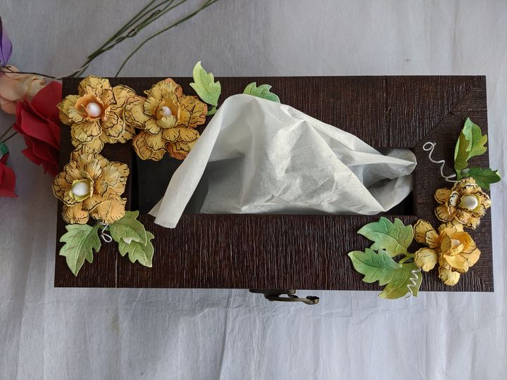 Tissue box - Crafttree Creations