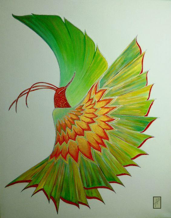 Oiseau Pájaro Bird - Hélène PATRIS