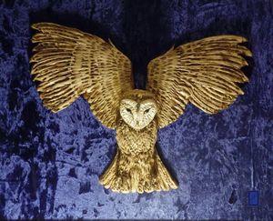 DAME BLANCHE  LECHUZA  OWL