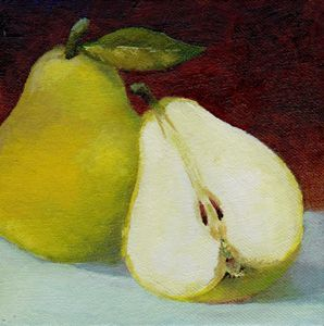 one and half pear (SOLD)