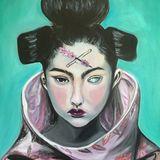 Oil on canvas unframed
