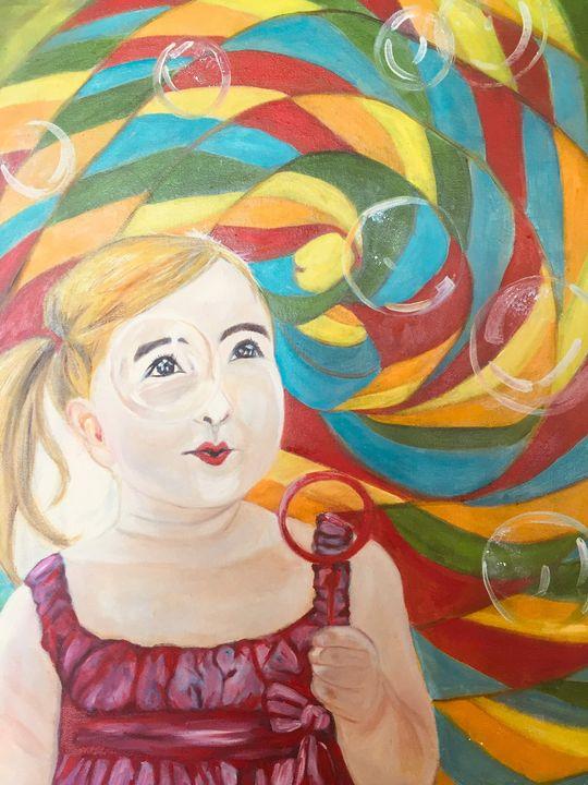 Candy cane  bubbles - ARTbyYTY