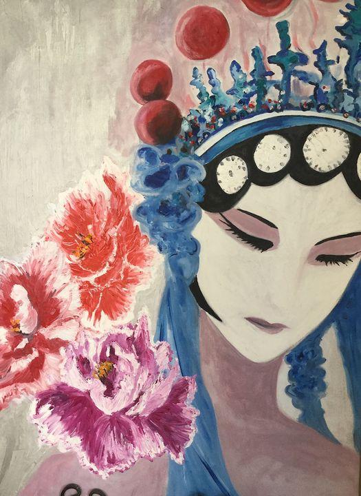 Chinese Opera Singer - ARTbyYTY