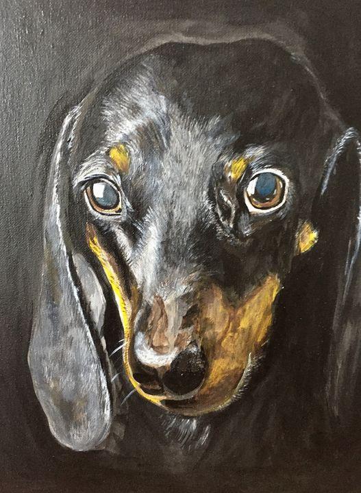 Black Sausage - ARTbyYTY