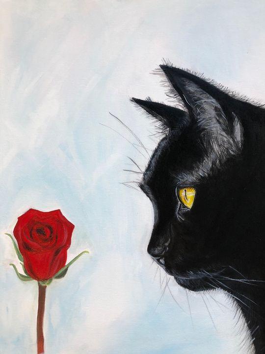 Won't you be my valentine - ARTbyYTY