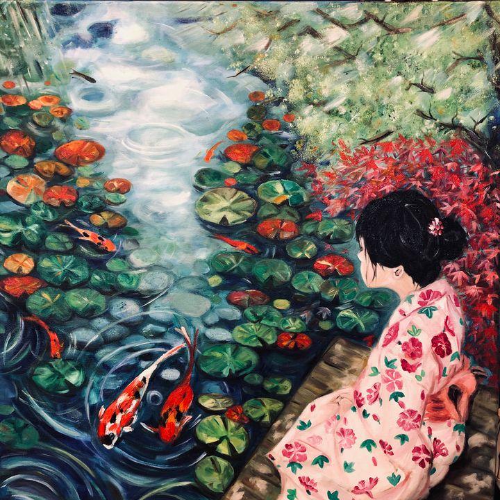 On Golden Pond - ARTbyYTY