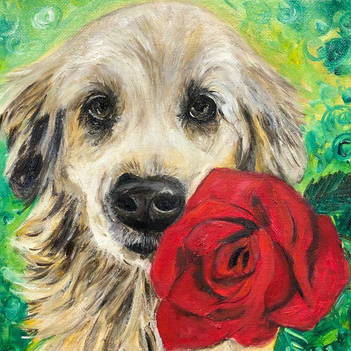 Golden Rose - ARTbyYTY