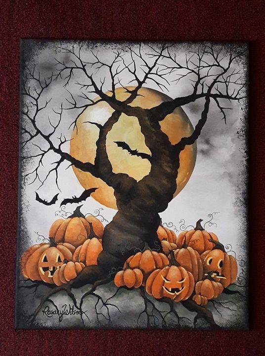 The Pumpkin Patch - Rosary Wilson Art
