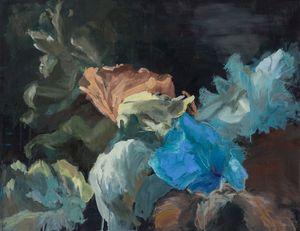 Las flores azules