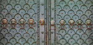 Doors of San Marco in Venice, Italy