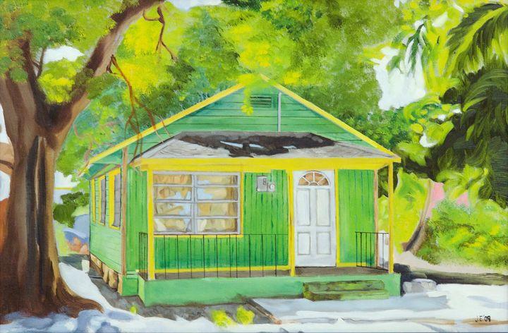 Bain Town House #1 - J Eneas Art