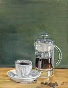 A French Coffee Press