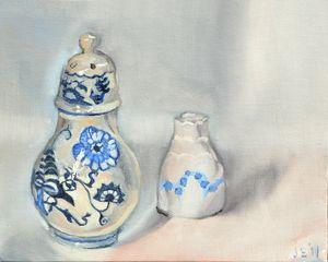 Ceramic Salt and Pepper Shaker