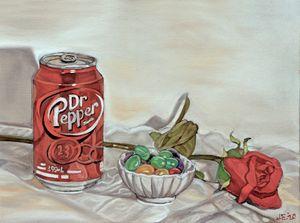A Dr. Pepper Still Life