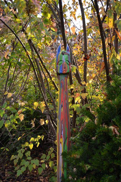 Garden Totem - glorious  nature