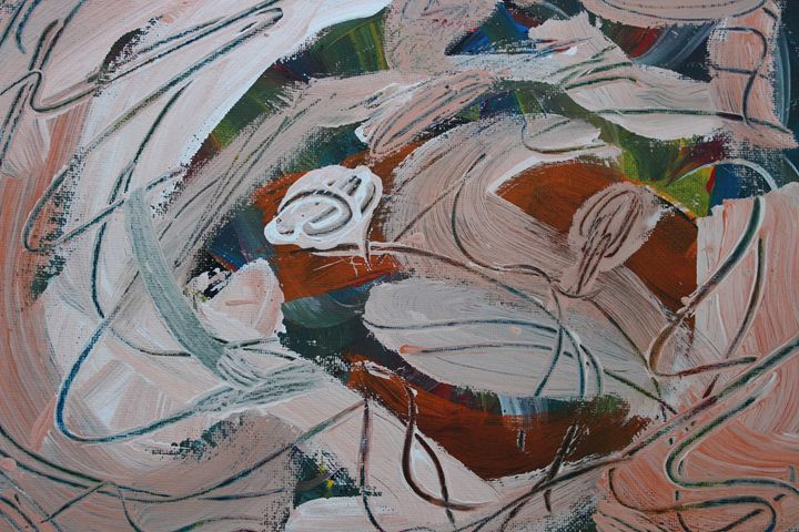 Pompous Peach Pinata - Connie Ann LaPointe