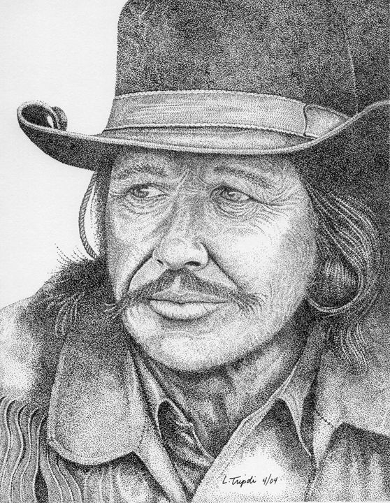 Charles Bronson - Art from the Inkwell