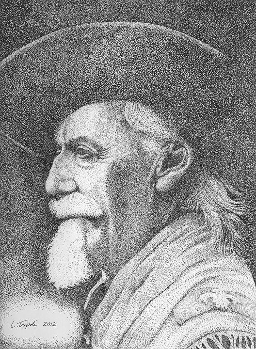 Buffalo Bill Cody - Art from the Inkwell