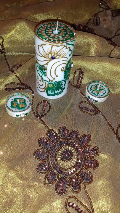 mehndi candles - Laila lights