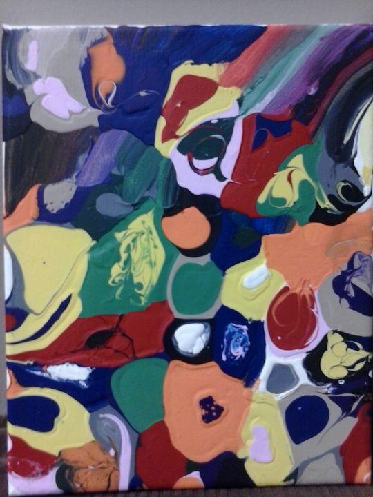 """"""" Blob Art 01"""" - Cat's Corner"""