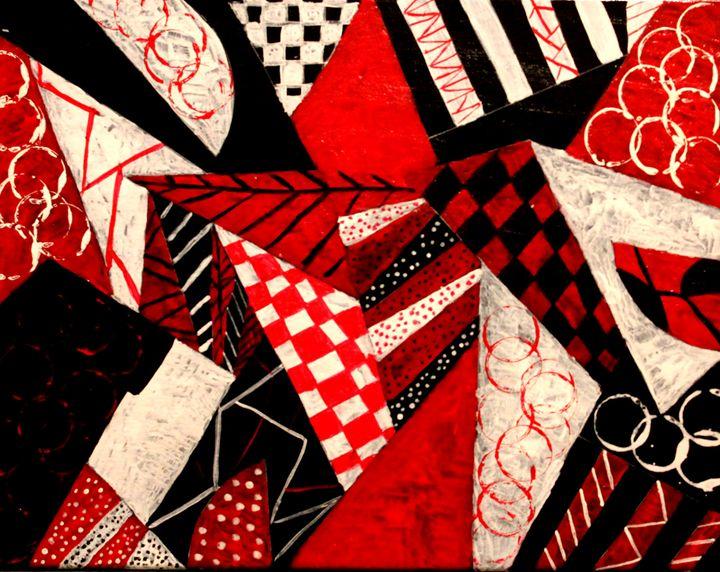 abstract - Amelia's Artwork