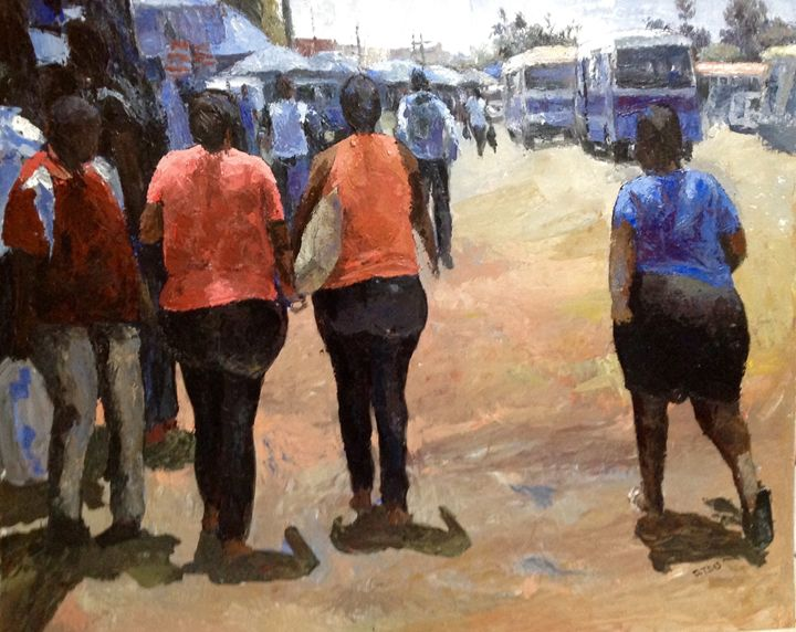 Go To Mwenge market for shopping - Atsu