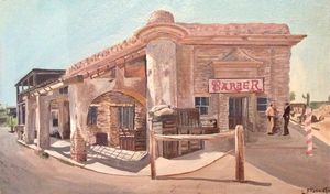 Old Tucson Barber Shop