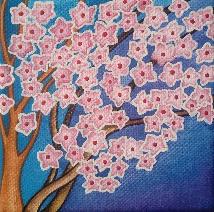 Cherry Tree - Daniela's drawings and paintings