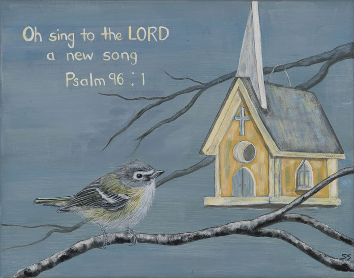 Oh Sing to the Lord a New Song - Susan Sawyer