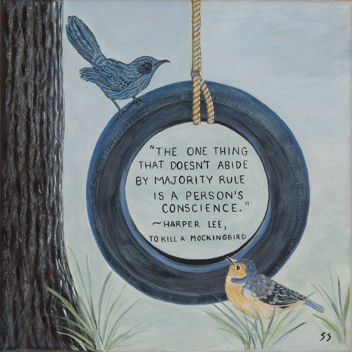 To Kill a Mockingbird quote - Susan Sawyer