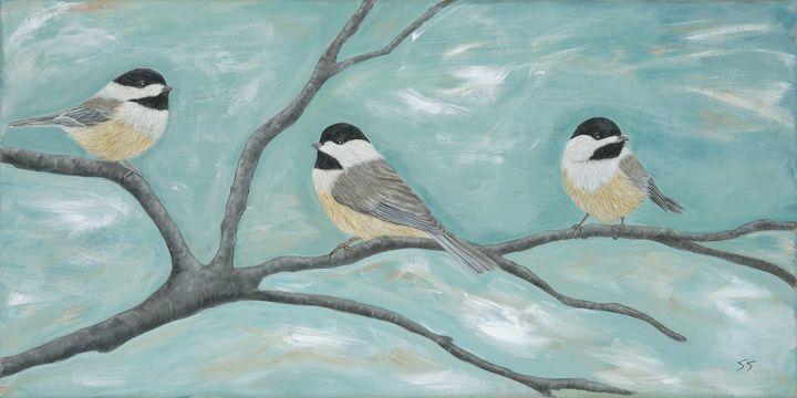 Three Little Chickadees - Susan Sawyer