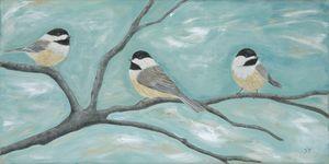 Three Little Chickadees