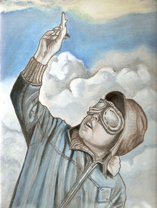 Aviation painting - RobCrandall