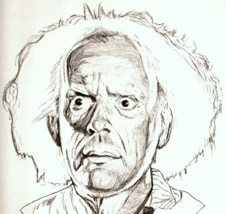 Christopher Lloyd drawing - RobCrandall