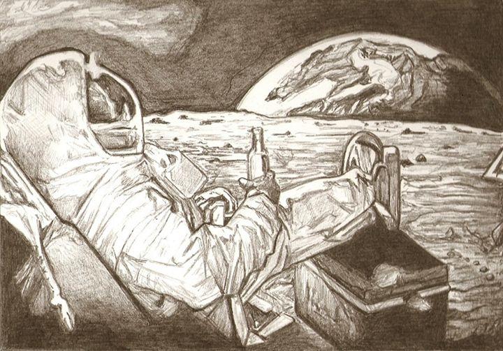 Astonaut drawing - RobCrandall