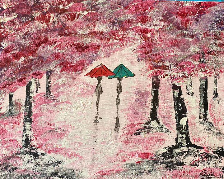 Sunset walk through the woods - Rich Sokolis