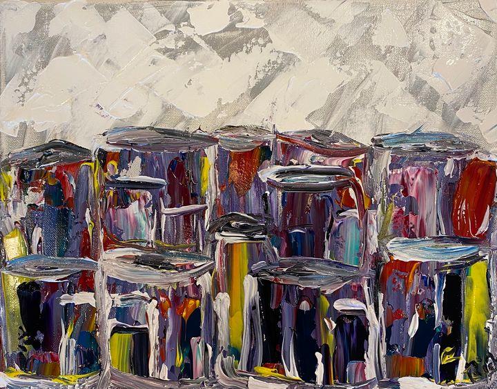 Personality through paint - Rich Sokolis