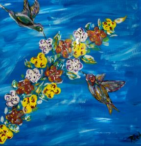 Hummingbirds #2 - Rich Sokolis