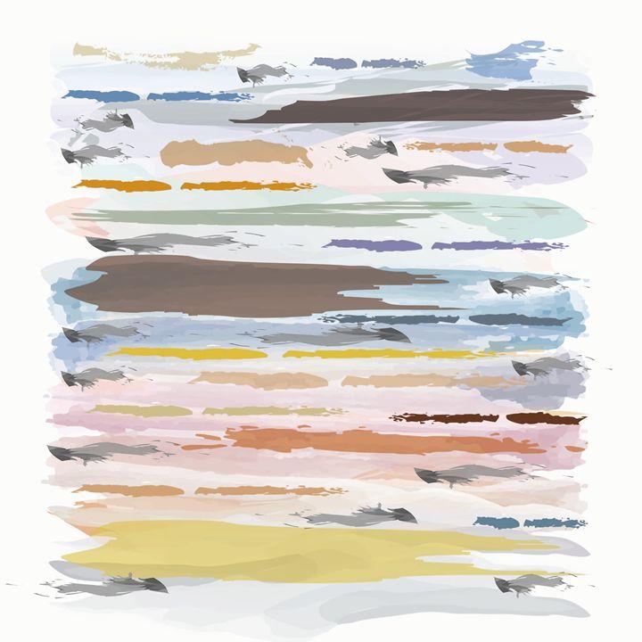 Watercolors - Travis Felder's Collection of Canvas Art