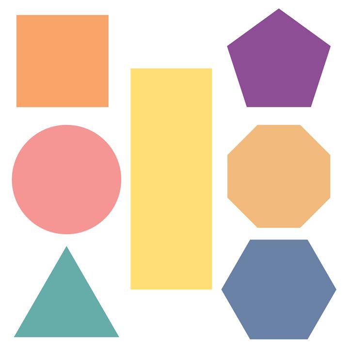 Kid's Geometric Art - Travis Felder's Collection of Canvas Art