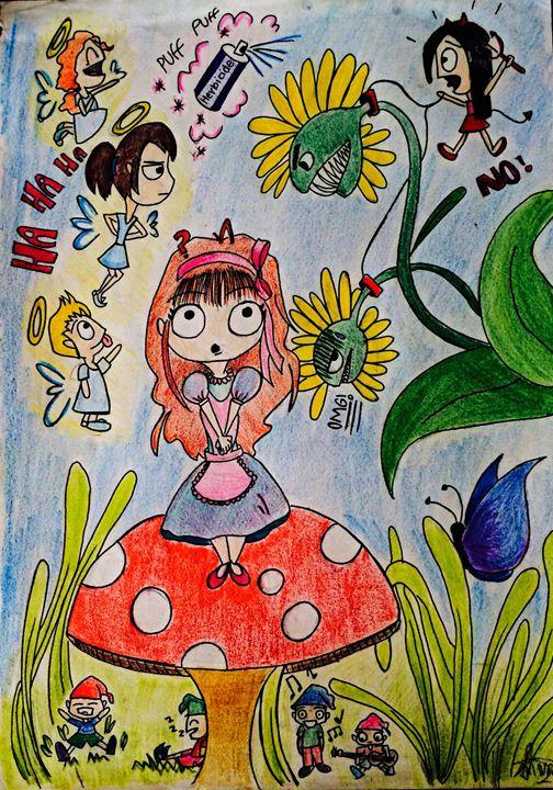 Wonderland - Silvana Santa Cruz