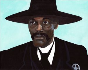 Bass Reeves With a Star