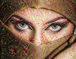 Deep Dream Smoky Eyes