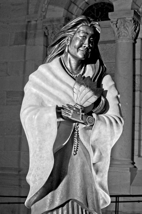 Saint Tekakwitha - Due North Gallery