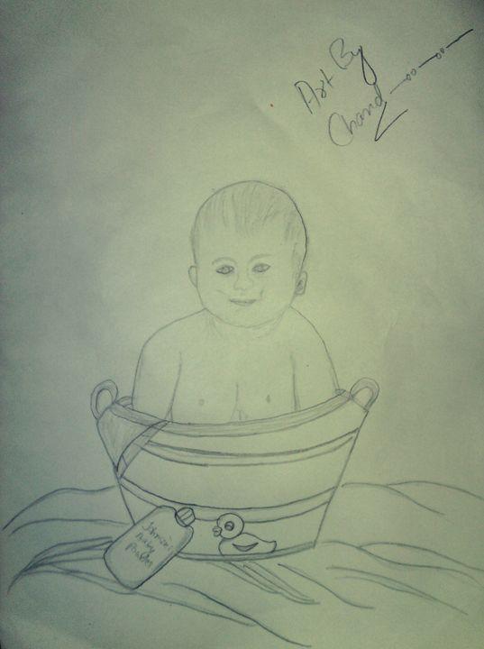 A Baby boy - chandrika menon mohandas nair