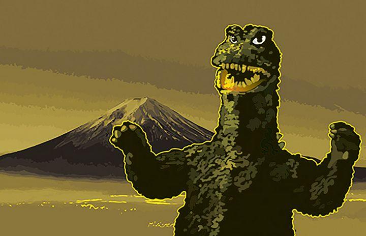 Godzilla 68 Vector - Mike's Kaiju Art Gallery